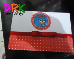 Convite Scrapbook  Galinha pintadinha