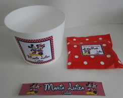 Kit Pipoca MIckey e Minnie