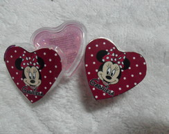Mini Brilho Cora��o Minnie