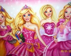 Painel Barbie Princesas