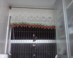 Bando para janela em croch�