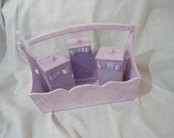 Kit Higiene Beb� Menina