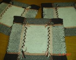 Capa de almofada em algod�o e nylon