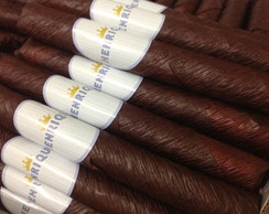 Kit 20 Charutos De Chocolate c\ etiqueta