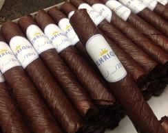 Kit 40 Charutos De Chocolate C\ Etiqueta