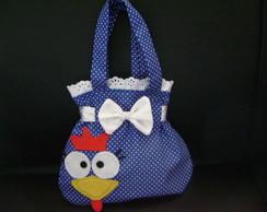 bolsinha personalizada galinha pintadinha
