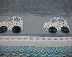 Toalha de Banho com Patch Aplique.