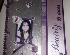 Caderno de Mensagem - 15 Anos da Beatriz