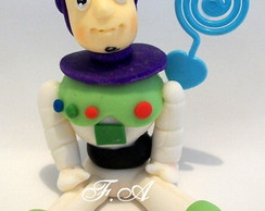 Lembran�a BUZZ LIGHTYEAR em biscuit