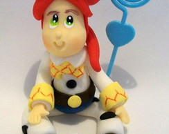 Lembran�a JESSIE TOY STORY em biscuit