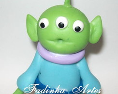 Lembran�a ALIENS TOY STORY em biscuit