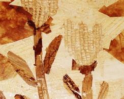 Painel Feito com Fibra de Bananeira