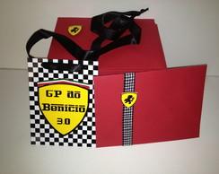 Convite Credencial Ferrari