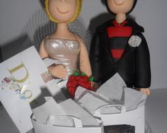 #Topos de Bolo para Casamento