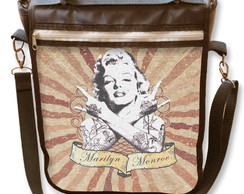 Bolsa Notebook Marilyn Monroe tattoo
