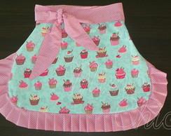 Avental Cupcake Revers�vel