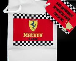 Sacolinhas Personalizadas Ferrari