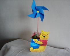 Enfeite de mesa MDF Ursinho Pooh