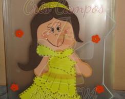 Pasta Decorada Princesa Belinha