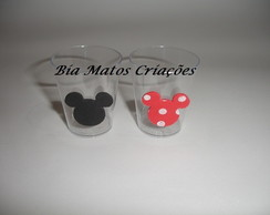 Copinho para doces do Mickey e Minnie