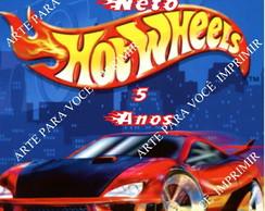 Arte para Bisnaga Hot Wheels