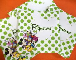 Envelope Personalizado Turma do Mickey