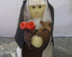 Santa Terezinha em feltro