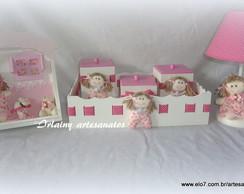 Kit Higiene Passa fitas rosa