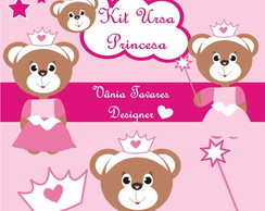 Kit Digital Ursa Princesa
