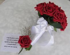 Mini Bouquet damas & lapela