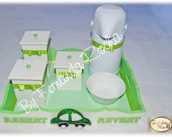 Kit Beb� Higiene (Menino) - 6 pe�as