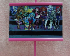 Mini Banner De Mesa Monster High