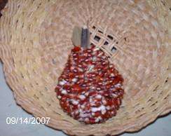 pera de fava vermelha pequena