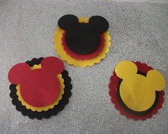 25 Totens 3D - MIckey - Minnie