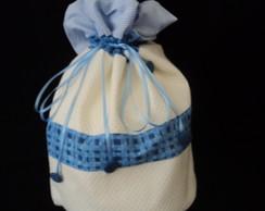 Embalagem saquinho em tecido