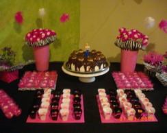 Festa Pink e Zebra