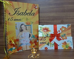 Convite 15 anos Isabela Garden