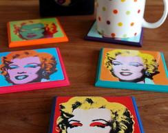 Descanso de Copos Marilyn Monroe