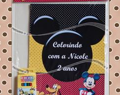 Kit de Colorir Mickey