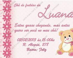Arte de Convite Luana