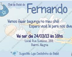 Arte de Convite Fernando