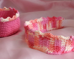 Tiara de crochet