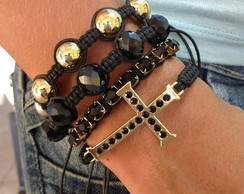 Kit shambala e crucifixo