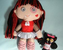 Monster High de feltro - Draculaura