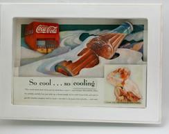 Quadro 3d Coca-cola