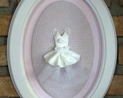 9261 - Quadro grande vestido bailarina