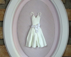 9262 - Quadro Grande Vestido Bailarina