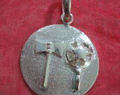 Medalha dos Orix�s Xang� ,Oxum.