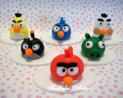 Lembran�a ANGRY BIRDS em biscuit