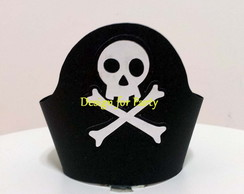 Wrapper Cupcake Festa Piratas